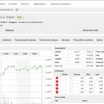 Binck schermafbeelding website